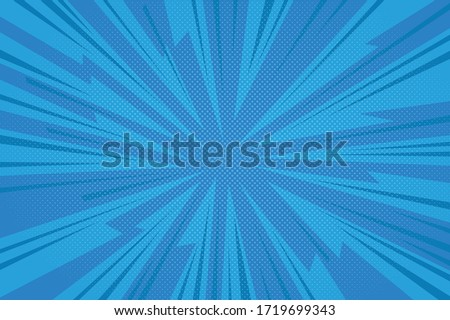 CARTOON DESIGN COLORED BACKGROUND. COMIC ILLUSTARTION VECTOR. EDGY SHAPE HALFTONE.
