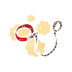cartoon dog lead