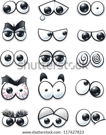 stock-vector-cartoon-eyes-collection