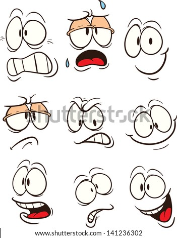 stock-vector-cartoon-faces-vector-clip-art-illustration-each-on-a-separate-layer