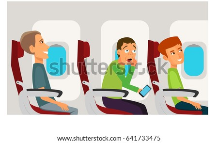 Cartoon Fear of Flying