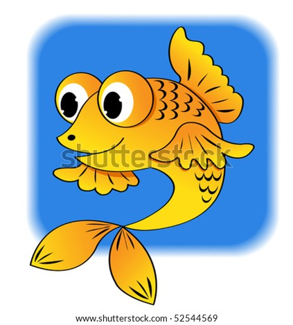 cartoon fish. stock vector : Cartoon fish.