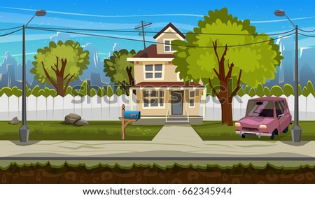stock-vector-cartoon-flat-seamless-landscape-separated-layers-for-parallax-effect-in-game-design-vector
