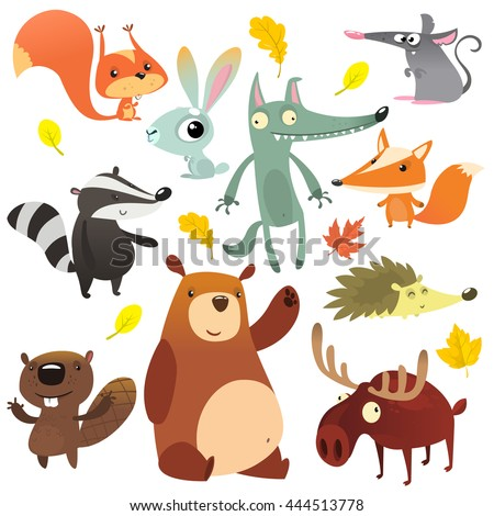 cartoon forest animal