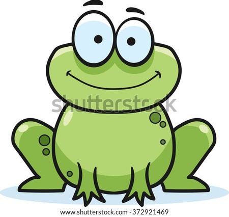 smiling cartoon frog download free vector art stock graphics images