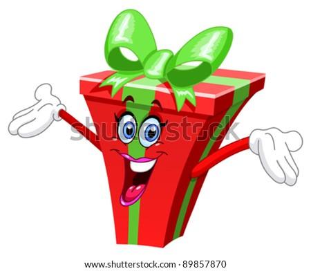 Cartoon gift
