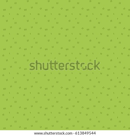 Cartoon grass seamless pattern