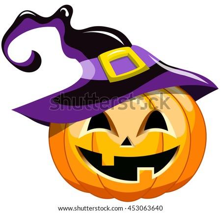 Pumpkins Halloween Cartoon Funny Vector Illustration - Download ...