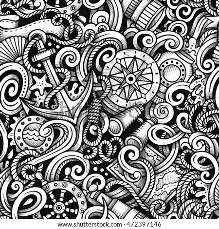 cartoon hand drawn doodles...