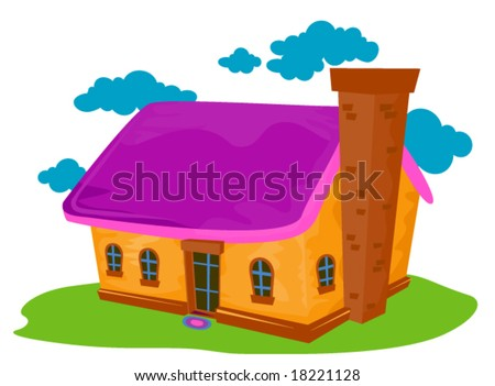 cartoon house. stock vector : Cartoon House -