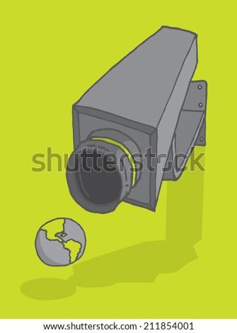 cartoon illustration of a