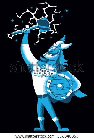 cartoon illustration of