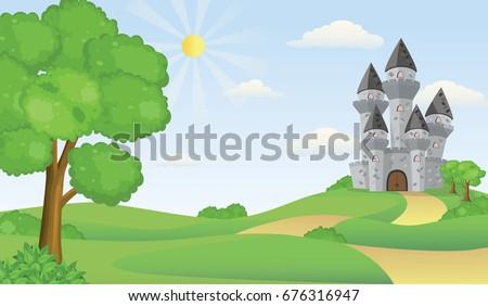 cartoon illustration of tale