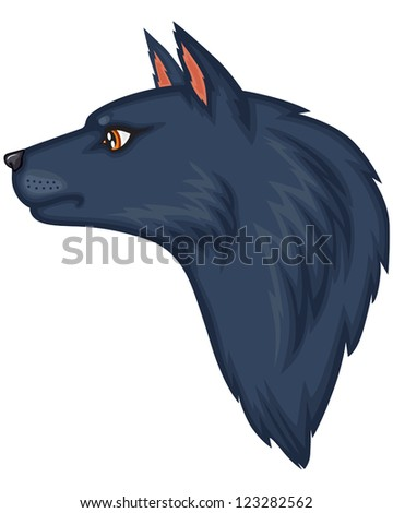 cartoon image of the wolf's