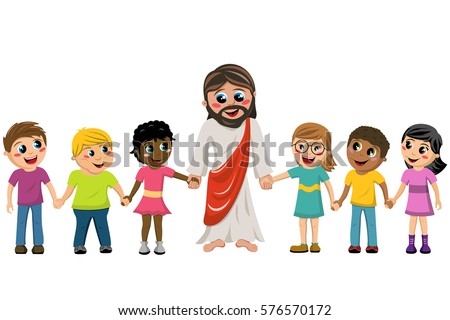 Inspector Clipart in addition 2 besides Jewelry likewise Jesus And Child 108506 moreover Children Of Diversity In Black And White. on cartoon walk with jesus banner