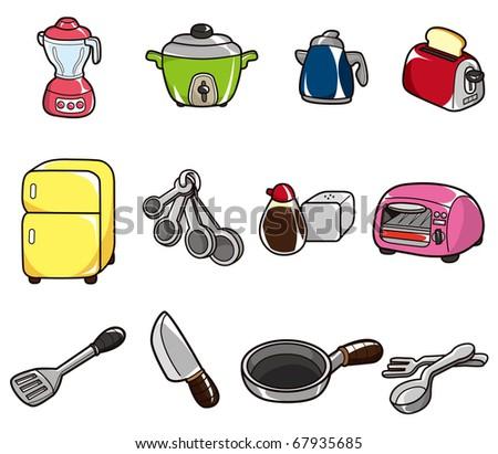 Cartoon Kitchen Icon Stock Vector Illustration 67935685
