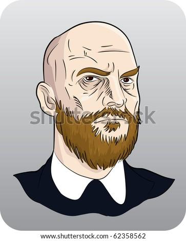 cartoon man - stock vector