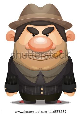 Cartoon Mobster