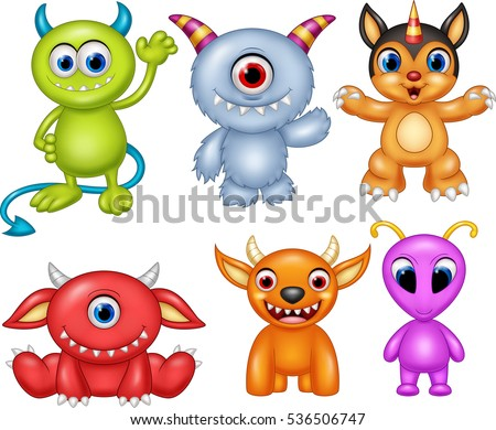 cartoon monsters expressions download free vector art stock rh vecteezy com pictures of scary cartoon monsters images of cartoon monsters