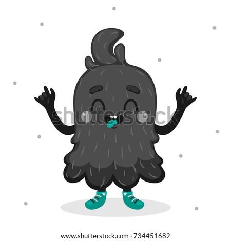 cartoon monster  cool boy
