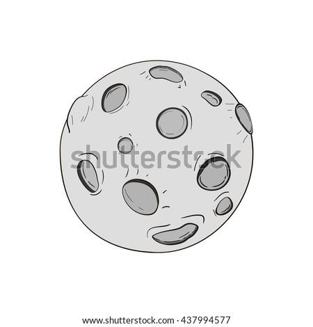 cartoon moon cartoon moon
