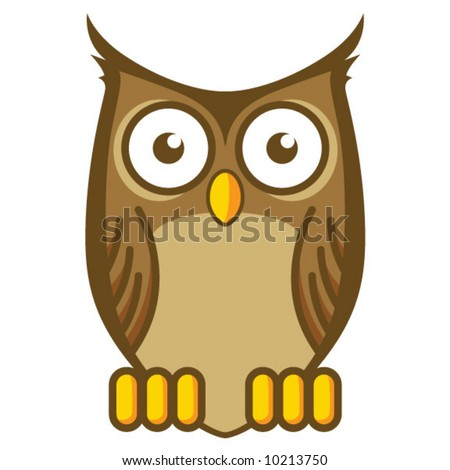 stock vector : Cartoon Owl