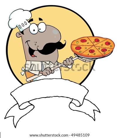 Pizza Chef Clip Art