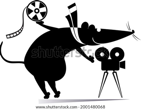 cartoon rat or mouse  movie