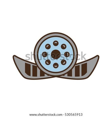 cartoon reel film movie wheel