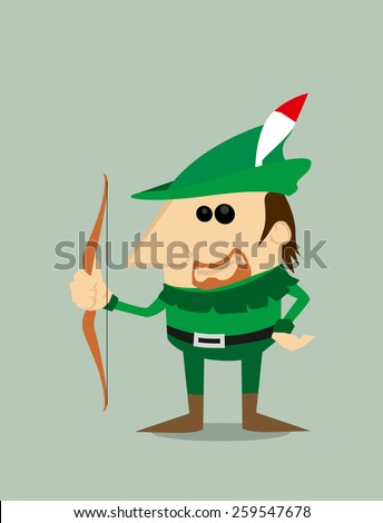 cartoon robin hood