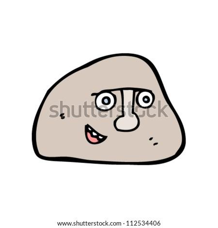 Cartoon Rock Stock Vector Illustration 112534406 : Shutterstock