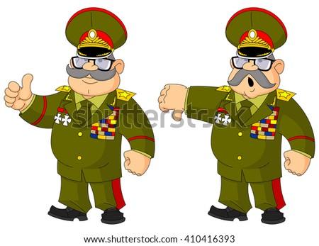cartoon russian general content