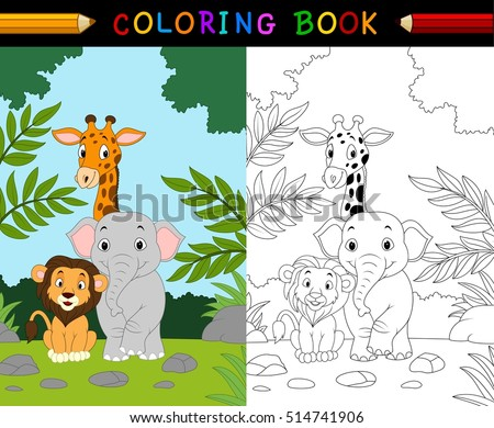 Free Animal Coloring Pages Vector - Download Free Vector Art ...