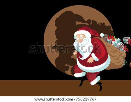 santa cartoon - download free vector art, stock graphics & images