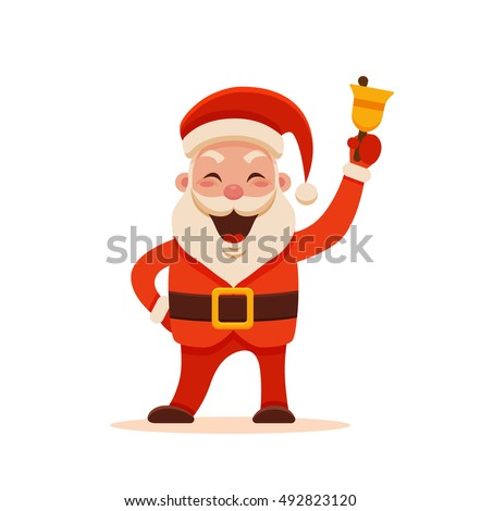 cartoon santa claus for your