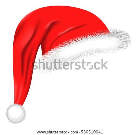 stock-vector-cartoon-santa-hat-isolated-on-white-eps-vector