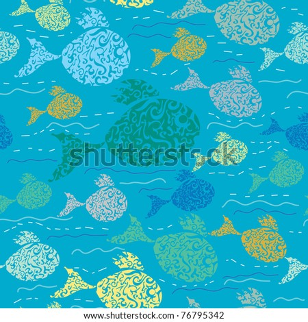 Fish Pattern Drawing How to Draw Animals Fish And