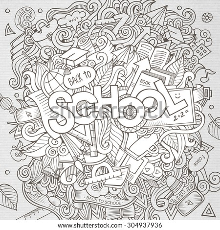 cartoon sketchy hand drawn