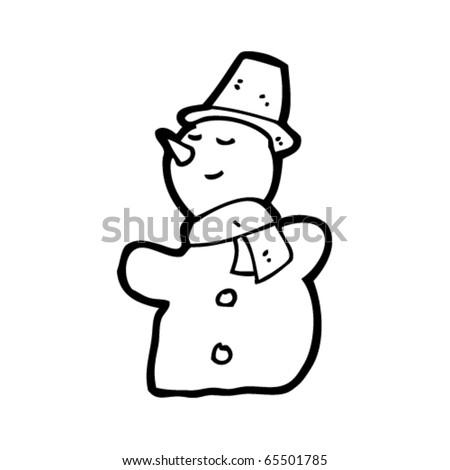 Cartoon Snowman Images. stock vector : cartoon snowman