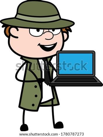 cartoon spy presentation on