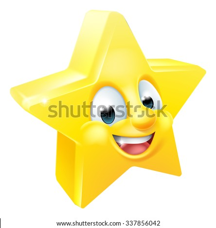 cartoon star emoji emoticon