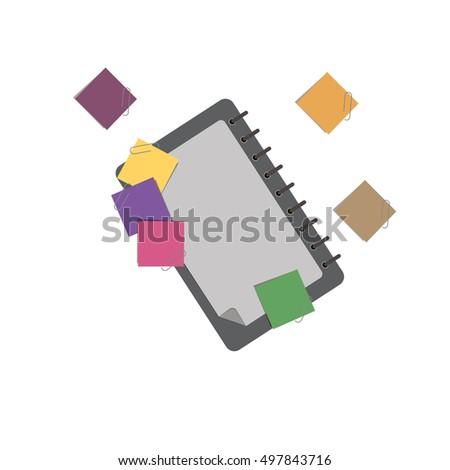 cartoon template notebook