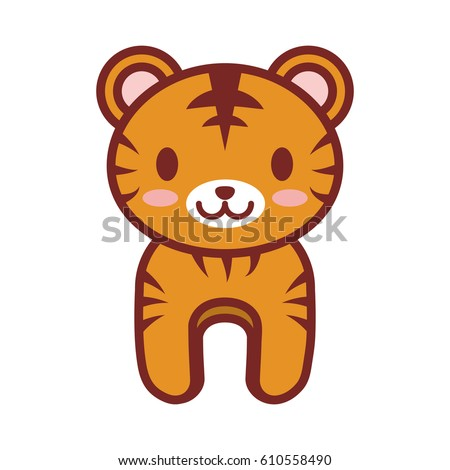 cartoon tiger animal image