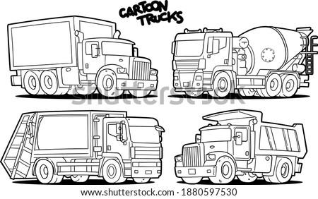 Garbage Truck Printable Coloring Pages At GetDrawings Free Download