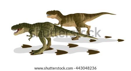 cartoon tyrannosaurus t rex  2