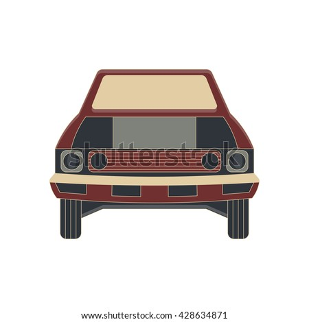 cartoon vector car design and