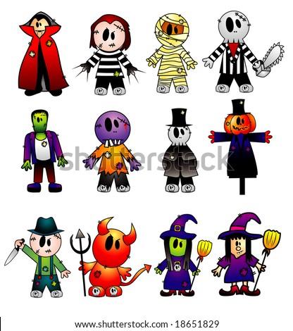 cartoon vector characters