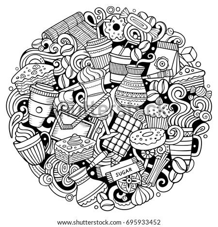 Vector Doodle Sketch Illustrator Pack Download Free
