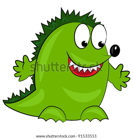 cartoon vector dragon.isolated cute animal. dinosaur character on white background