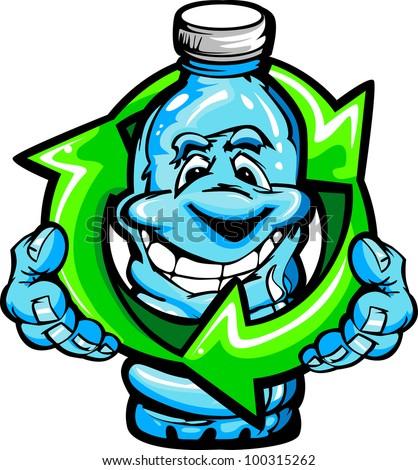 Cartoon Plastic Water Bottle Plastic Water Bottle